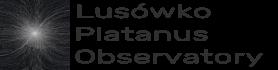 Lusówko Platanus Observatory