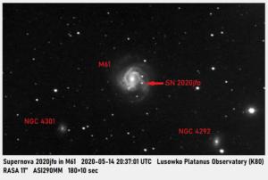 Supernowa w M61